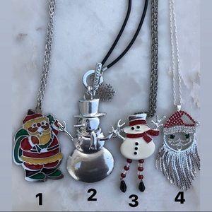 Christmas necklaces - long pendant necklaces